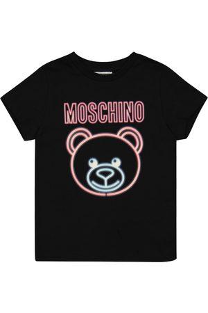 Moschino T-Shirt aus Stretch-Baumwolle