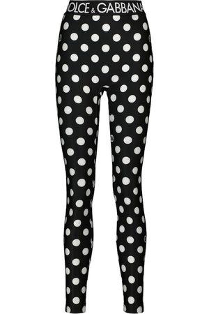 Dolce & Gabbana Gepunktete Leggings