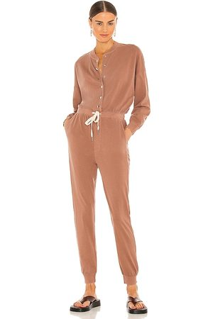 NSF Dixie Jumpsuit in - Tan. Size L (also in XS, S, M).