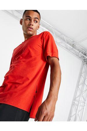 Nike Nike Yoga Dri-FIT t-shirt in red
