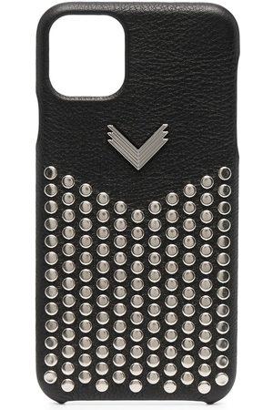 Manokhi Handy - Studded leather iPhone 11 Pro Max case