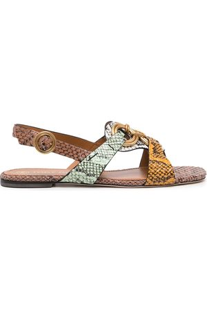 Tory Burch Ring-detail sandals