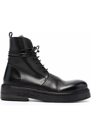 MARSÈLL Damen Stiefeletten - Lace-up ankle-length boots
