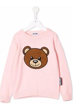 Moschino Mädchen Pullover - Teddy Bear crewneck jumper