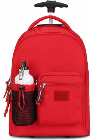 Dolce & Gabbana Jungen Rucksäcke - Logo-plaque wheelie backpack