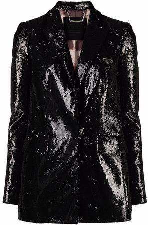 Philipp Plein Sequin-embellished blazer