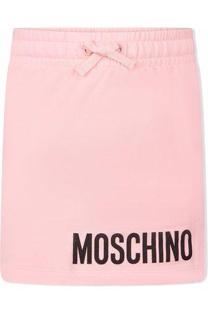 Moschino Mädchen Bedruckte Röcke - Logo-print skirt