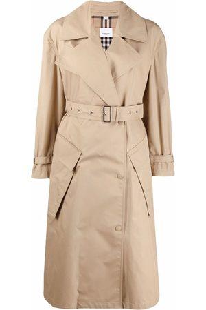 Burberry Damen Trenchcoats - Technical cotton trench coat