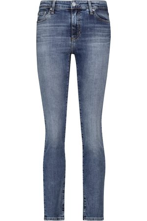 AG Jeans High-Rise Skinny Jeans Mari