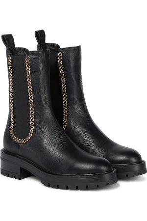 Aquazzura Damen Stiefeletten - Chelsea Boots Mason aus Leder
