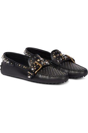 Tod's Verzierte Loafers Gommini aus Leder