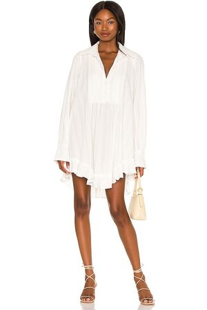 Free People Love Me Truly Tunic in - White. Size L (also in M, S, XS).