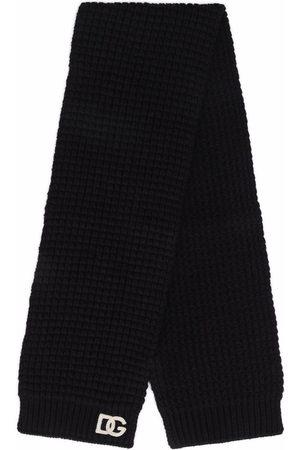 Dolce & Gabbana Chunky knit wool scarf