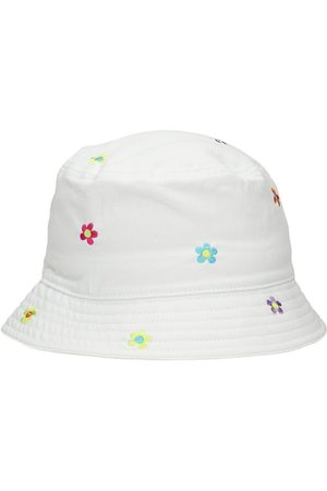 A.Lab Flower Embroidered Bucket Hat