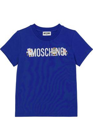 Moschino T-Shirt aus Baumwoll-Jersey