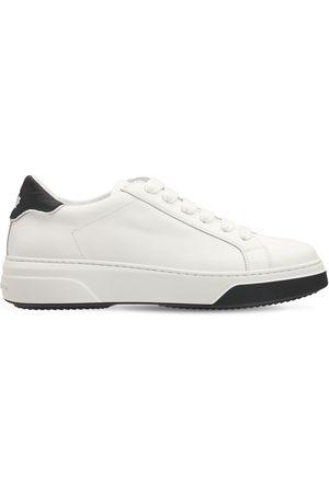 "Dsquared2 Damen Sneakers - 30mm Hohe Ledersneakers ""bumper"""