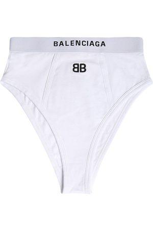 Balenciaga Damen Unterwäsche - Sport-slip Aus Baumwolljersey