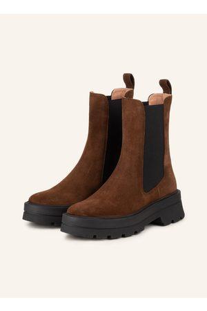 HUGO BOSS Damen Stiefeletten - Chelsea-Boots Denory