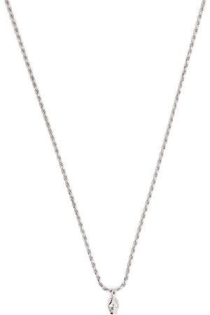 EMANUELE BICOCCHI Herren Halsketten - Diamond eye skull pendant necklace