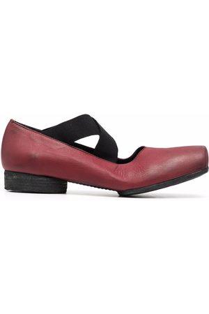 UMA WANG Crossover-strap ballerina shoes