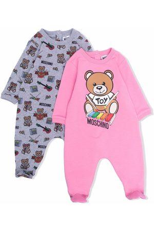 Moschino Outfit Sets - Teddy bear print babygrow set