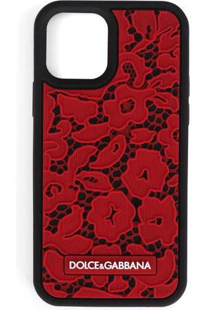 Dolce & Gabbana Damen Handy - Lace-effect iPhone 12 Pro case