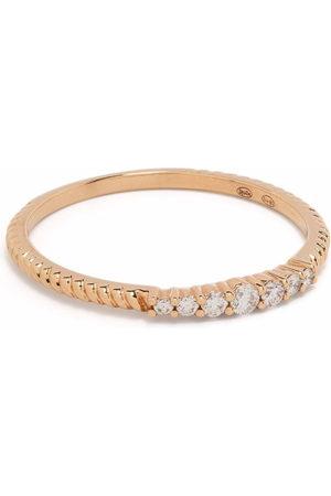 DJULA Damen Ringe - 18kt rose gold Accumulation diamond ring