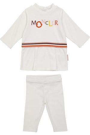 Moncler Outfit Sets - Baby Set aus Top und Leggings aus Baumwolle