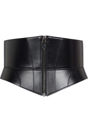 Alaïa Damen Gürtel - Korsettgürtel The Zip Large aus Leder