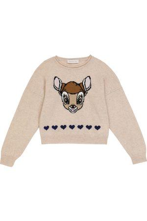 MONNALISA Damen Strickpullover - Pullover aus Wolle