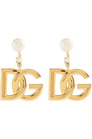 Dolce & Gabbana Damen Ohrringe - Verzierte Ohrringe DG