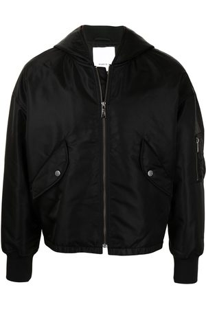 Ports V Hooded bomber jacket