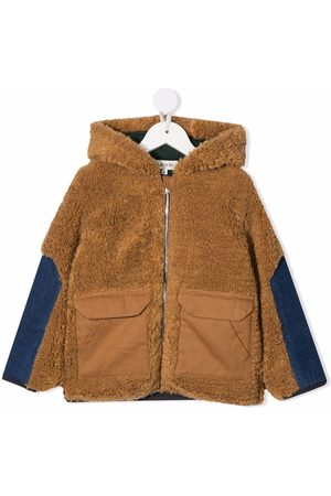 Lanvin Cotton-fleece hooded jacket