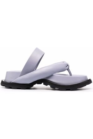 Jil Sander Padded-strap flat sandals