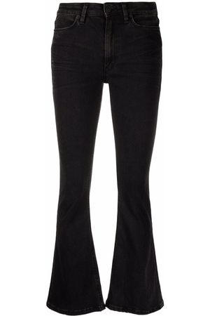 Dondup Mid-rise flared-leg jeans
