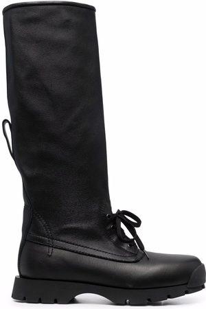Jil Sander Knee-high lace-up boots