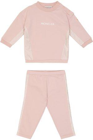 Moncler Baby Set aus Sweatshirt und Hose