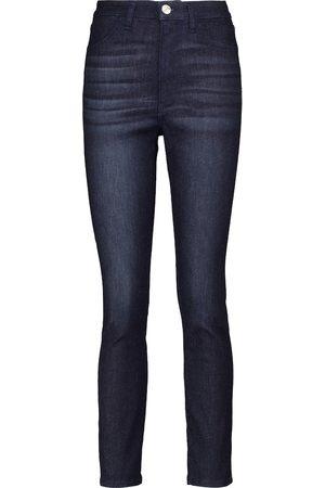 3x1 High-Rise Skinny Jeans W3 Channel Seam