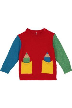 Stella McCartney Kids Baby Pullover aus einem Wollgemisch