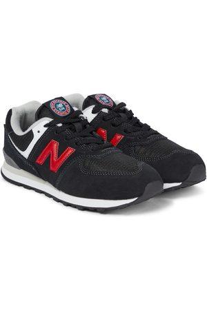New Balance Sneakers 574 aus Veloursleder