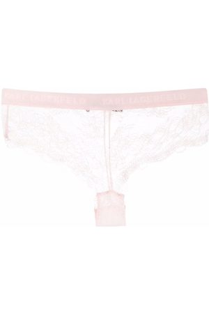 Karl Lagerfeld Damen Hipsters - Lace hipster briefs