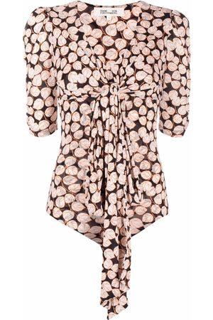Diane von Furstenberg Damen Bodys - Foliage-print bodysuit