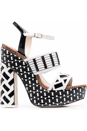 SOPHIA WEBSTER Damen Sandalen - Celia 140mm platform sandals