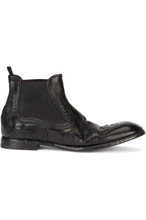 Dolce & Gabbana Herren Stiefel - Brogue-detail ankle boots