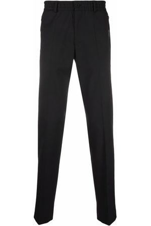 Karl Lagerfeld Herren Stoffhosen - Clash pressed-crease trousers