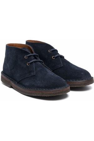 PèPè Lace-up suede desert boots