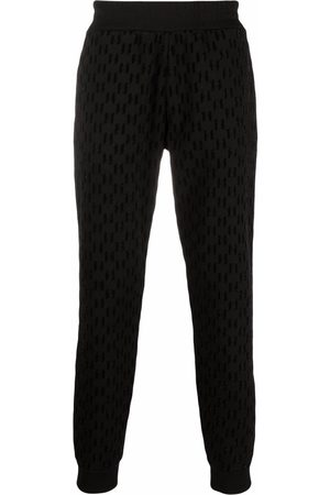 Karl Lagerfeld Monogram-pattern track pants