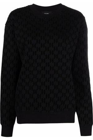 Karl Lagerfeld Damen Jumpsuits - All-over pattern sweatshirt