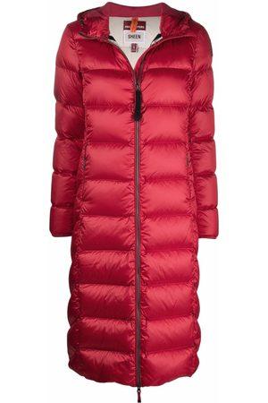 Parajumpers Damen Trenchcoats - Hooded zip-up padded coat
