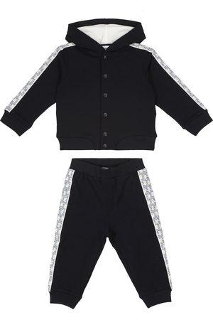 Emporio Armani Baby Jogginganzug aus Stretch-Baumwolle